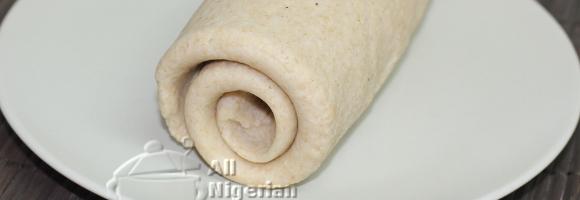Rolled Fufu – For Semo, Pounded Yam, Eba etc
