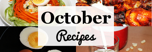 October Recipes
