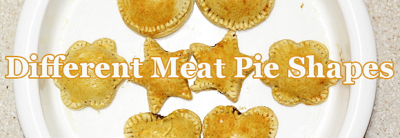 Different Shapes for Nigerian Meat Pie