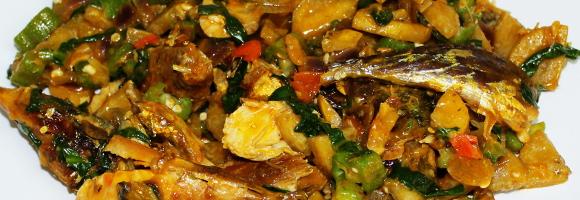 Okra & Unripe Plantain Porridge
