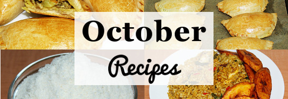 October Recipes