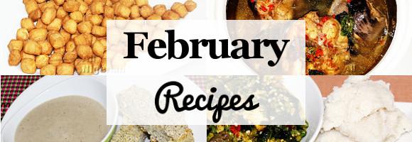 Recent New Recipes