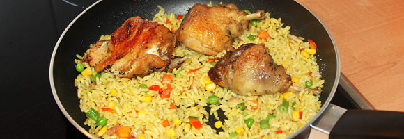 Nigerian Fried Rice – Another way