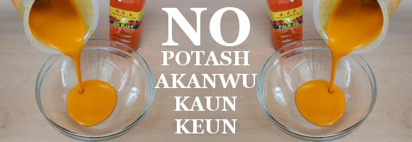 Potash-free Ncha for Abacha, Isi Ewu, Nkwobi