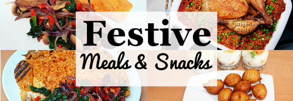 Festive Season Recipes Recommendations