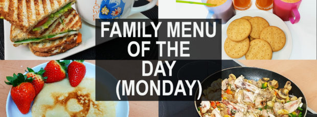 Menu of the Day: Family of 4